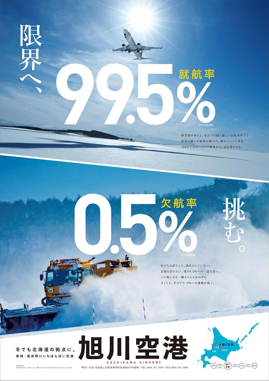 限界へ挑む 就航率99.5% 欠航率0.5%