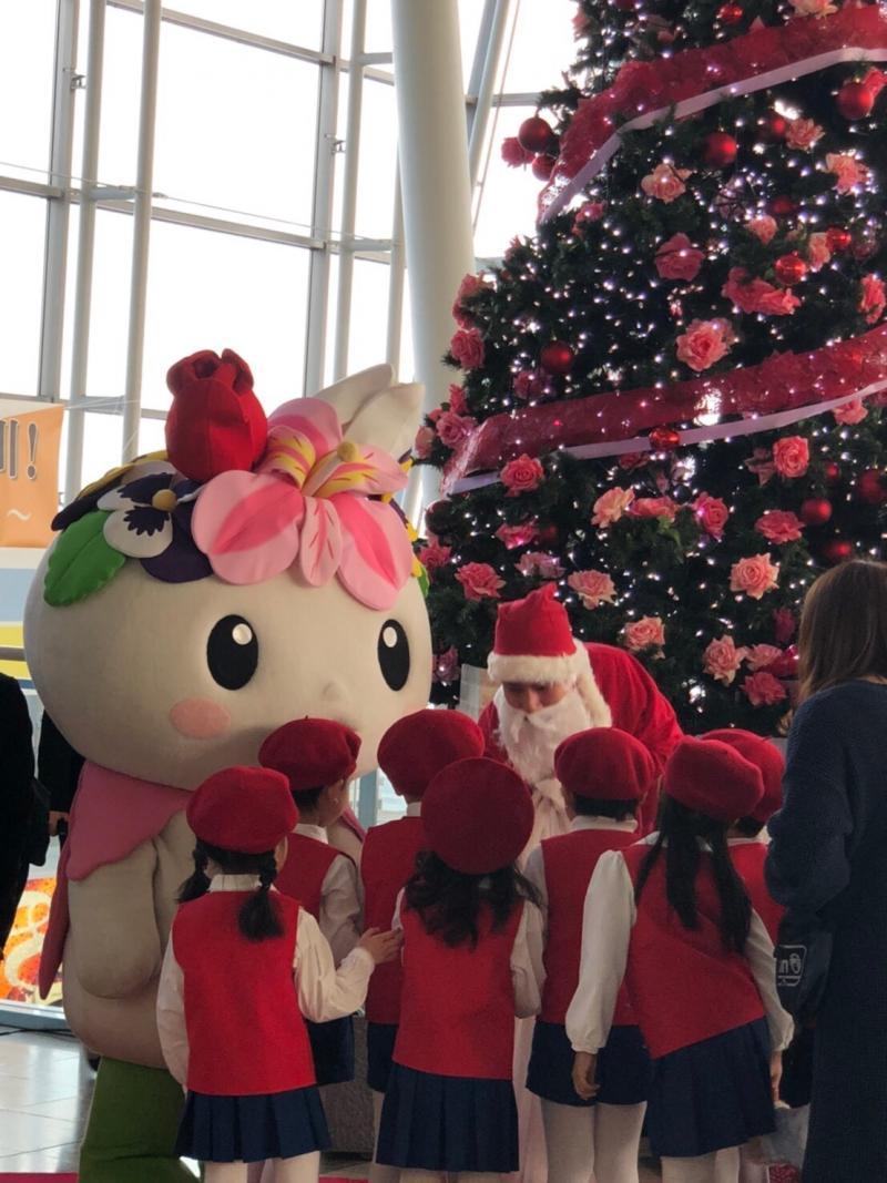クリスマスツリー点灯式2019②